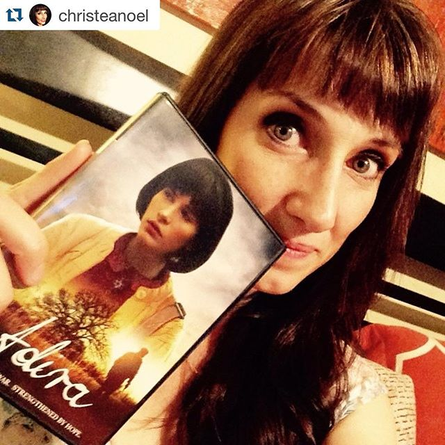 #Repost @christeanoel. ・・・ Look what I got in the mail today! Loved being part of this film! #kcfilm #adira Wanna a copy? http://bit.ly/BuyAdira