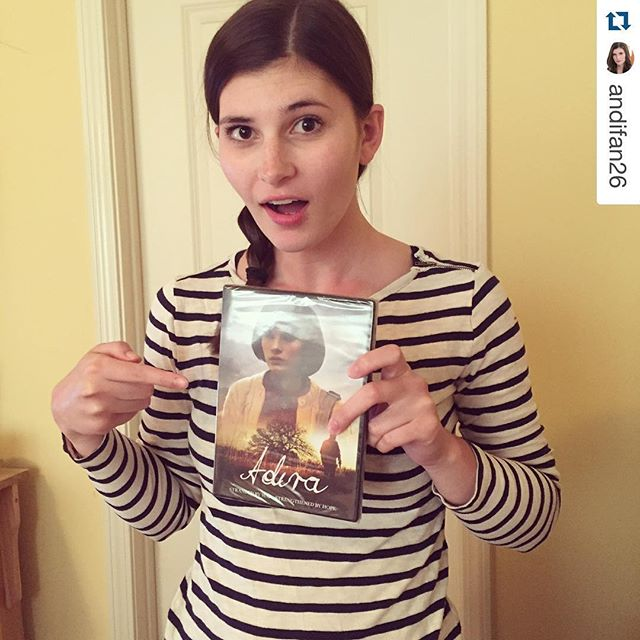 #Repost @andifan26. ・・・ Look what I got in the mail! Be sure to pick up your copy of Adira on DVD (buff.ly/1Ww73hx) or Digital HD (http://us9.campaign-archive2.com/?u=adbf12e7bc471c04726113c0d&id=c40d479947&e=851992bf5c)! #AdiraMovie #filmmaking #indiefilm #distribution #ingénue #feature #WWII #KC #Harrisonville #LAactress #youngactor