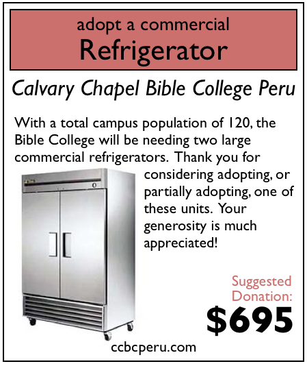0 of 2 commercial refrigerators adopted.