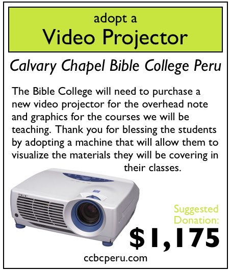 0 of 1 video projectors adopted