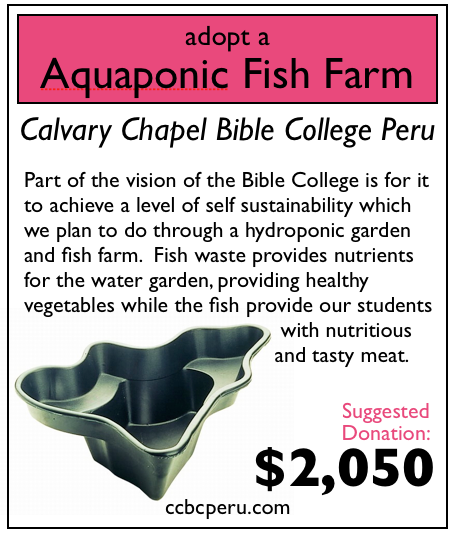 0 of 1 aquaponic fish farm adopted
