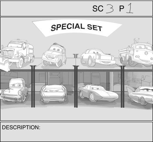 Pixar: Storyboarding Game Experience