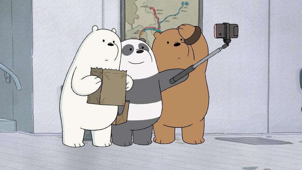 <신작 게임의 주인공으로 나설 애니메이션'위 베어 베어스'의 한 장면>