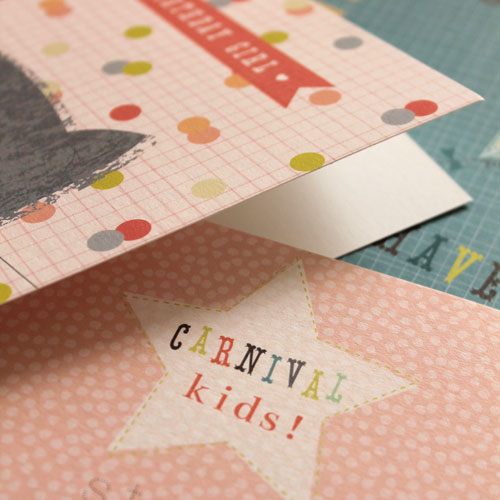Detail from the new 'Carnival Kids' range