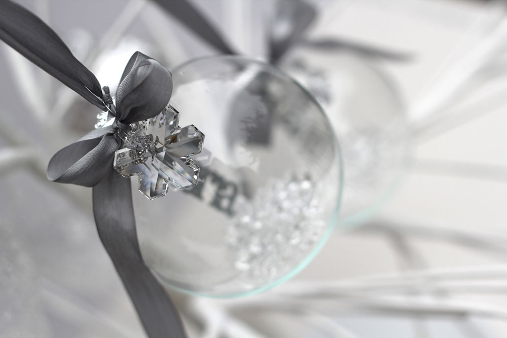 Swarovski Crystal Personalised Bauble, © Studio Seed Photograph by Alex Carlile
