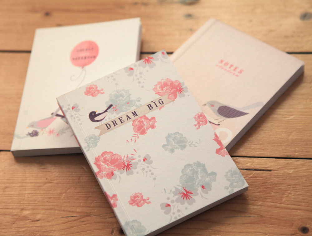Luxury A6 Notebooks from Studio Seed