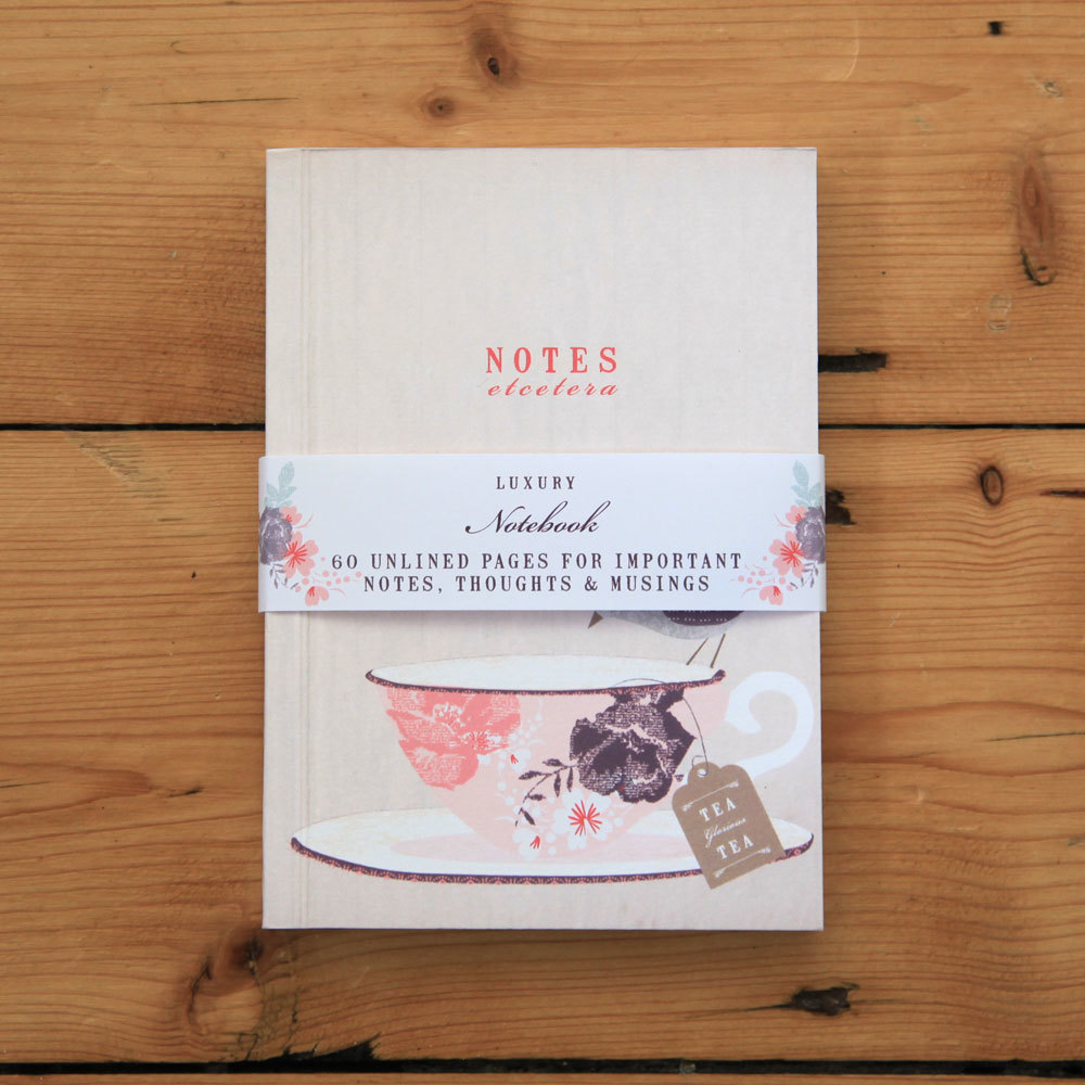 Fly Away - teacup notebook
