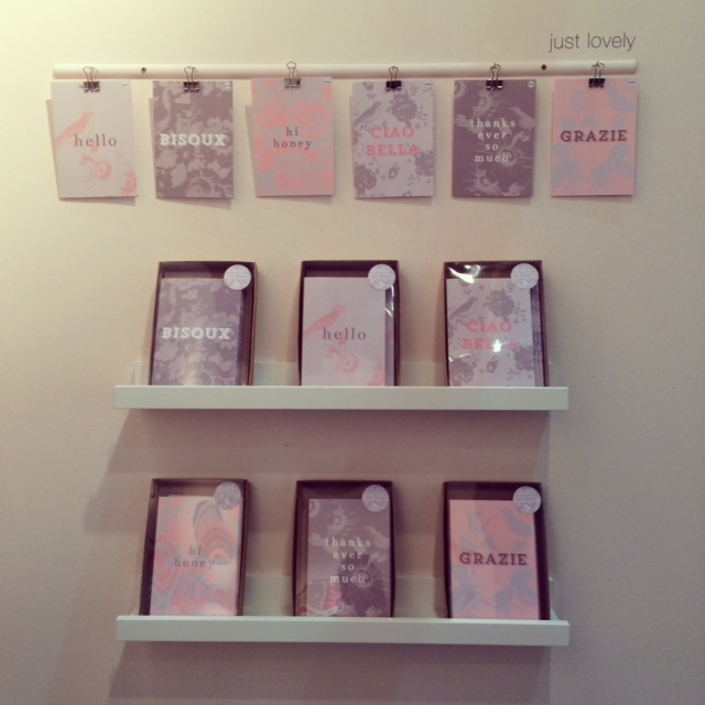 'Just Lovely' range at Top Drawer