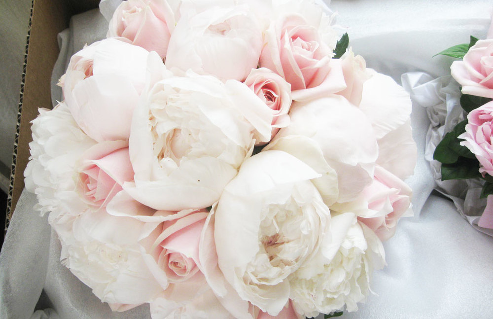 Peonies from bouquetweddingflower.com