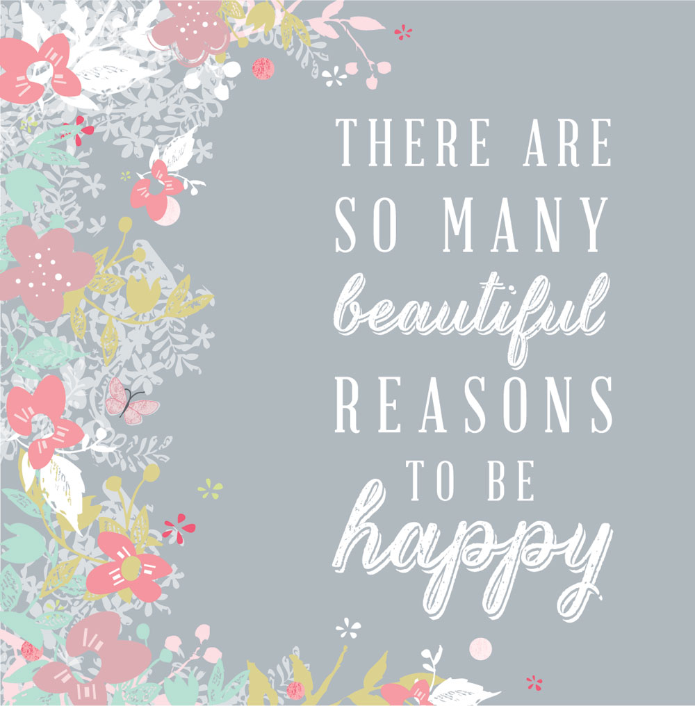 So Many Beautiful Reasons Happy Friday Studio Seed