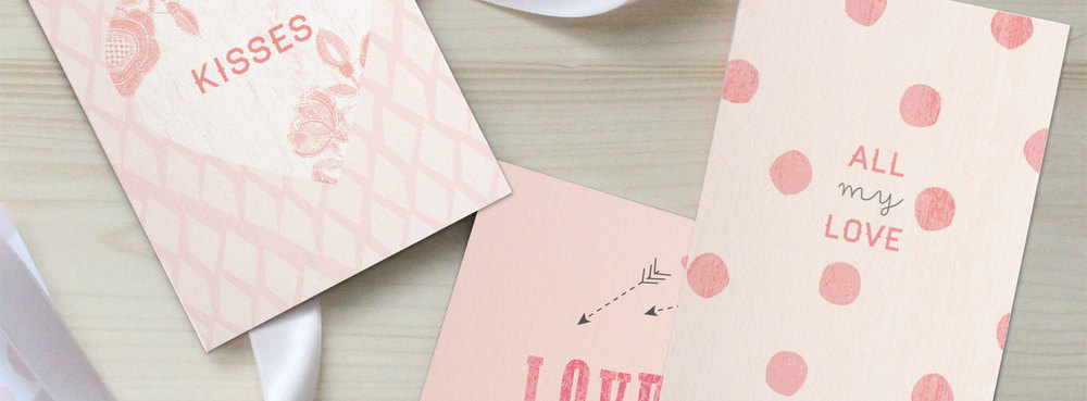 Download our free Valentine's printable cards above!