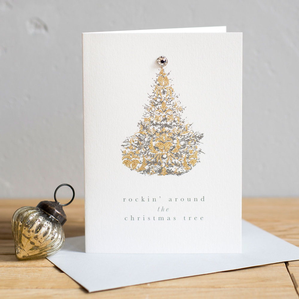 Luxury Swarovski Tree Christmas Cards — Studio Seed
