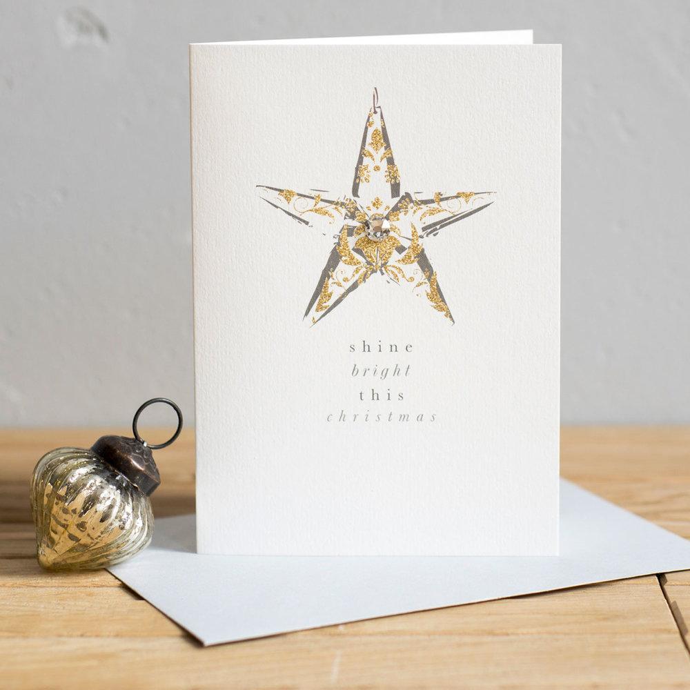 Luxury swarovski star christmas cards studio seed luxury swarovski star christmas cards kristyandbryce Images