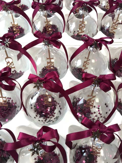 will you be my bridesmaid gifts - Christmas Wedding Favors