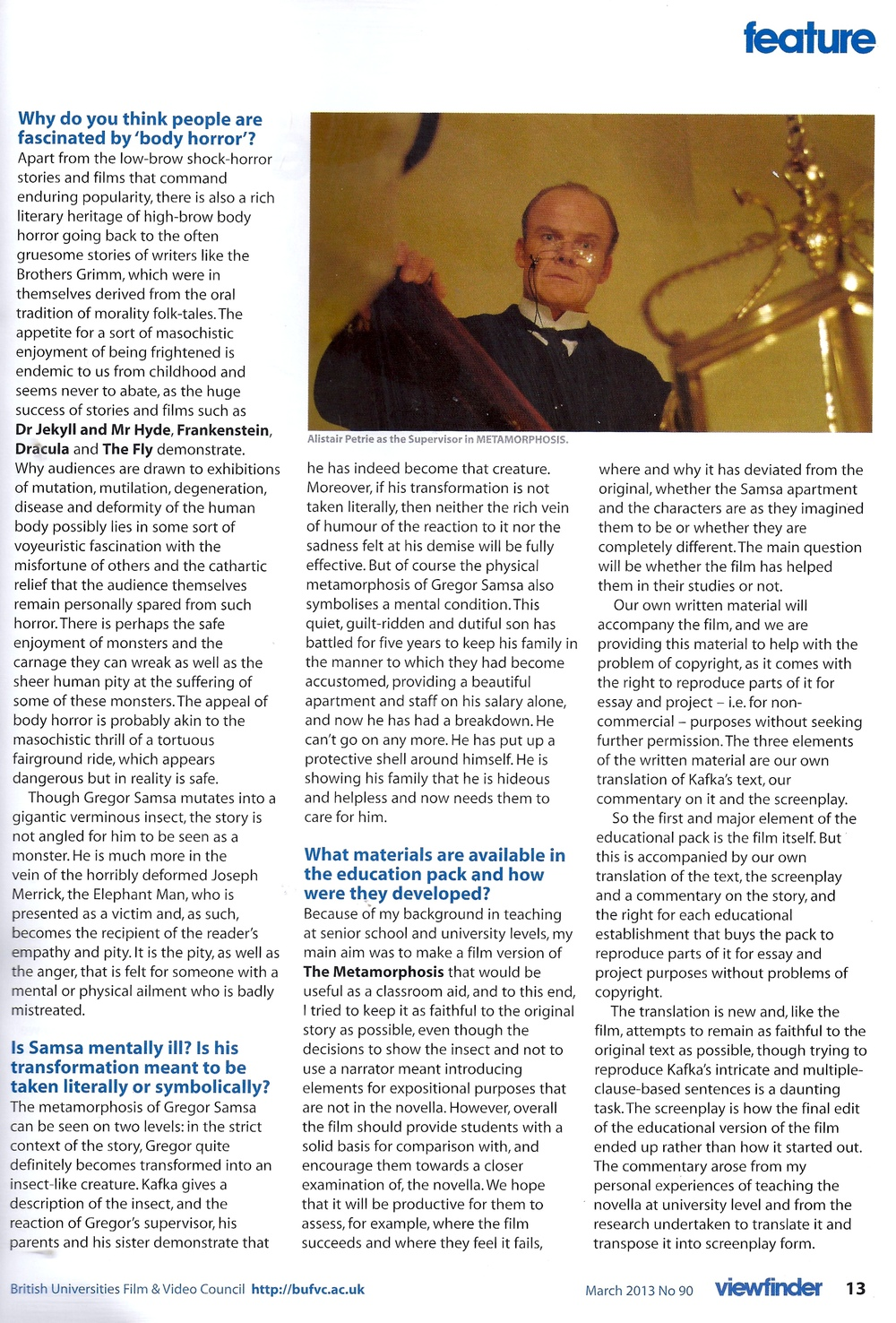 Viewfinder Issue 90, page 2, March 2013