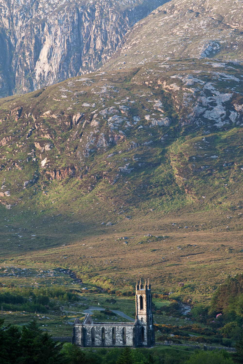 Dunlewy Church, Posion Glen, Donegal