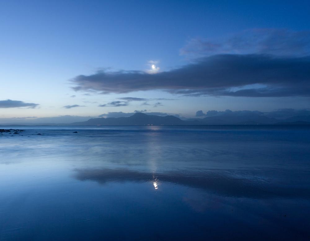 Moon over Mulranny