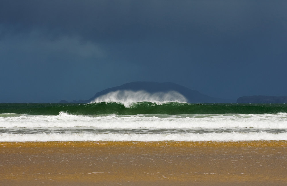 Waves Breaking, Donegal Ireland