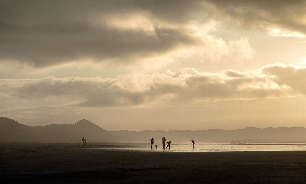 Beach Walkers, Donegal