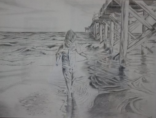 18 X 24 Drawing Pencil    Weston for Josh and Deana Thomas-Reidsville, NC     Christmas 2009