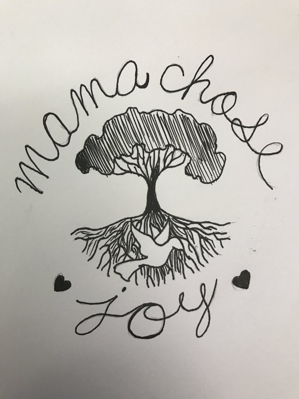 Mama Chose Joy Logo