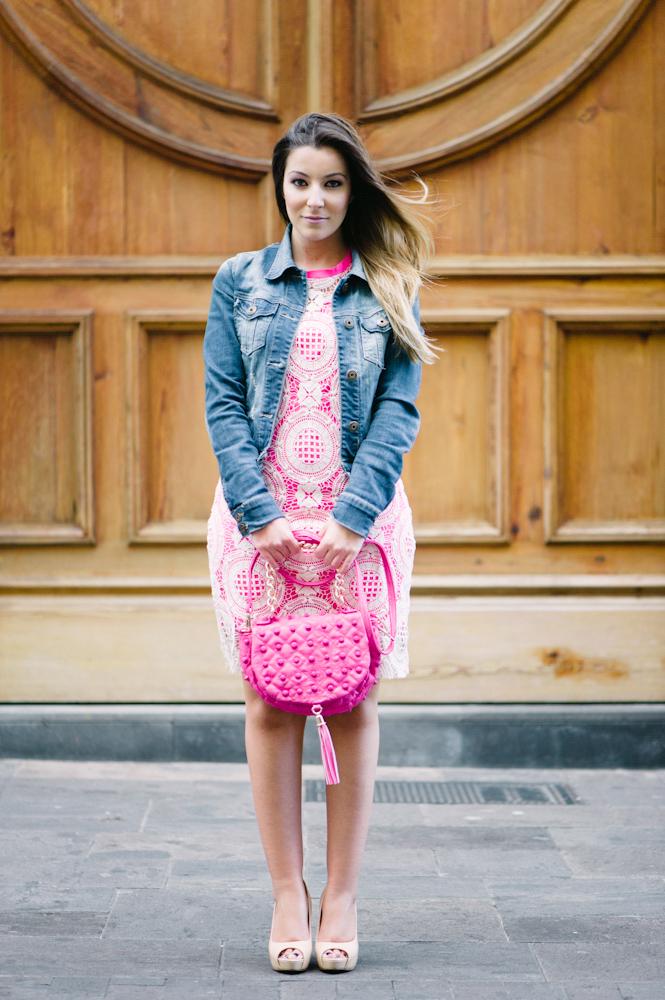 vestido, rosa, MET