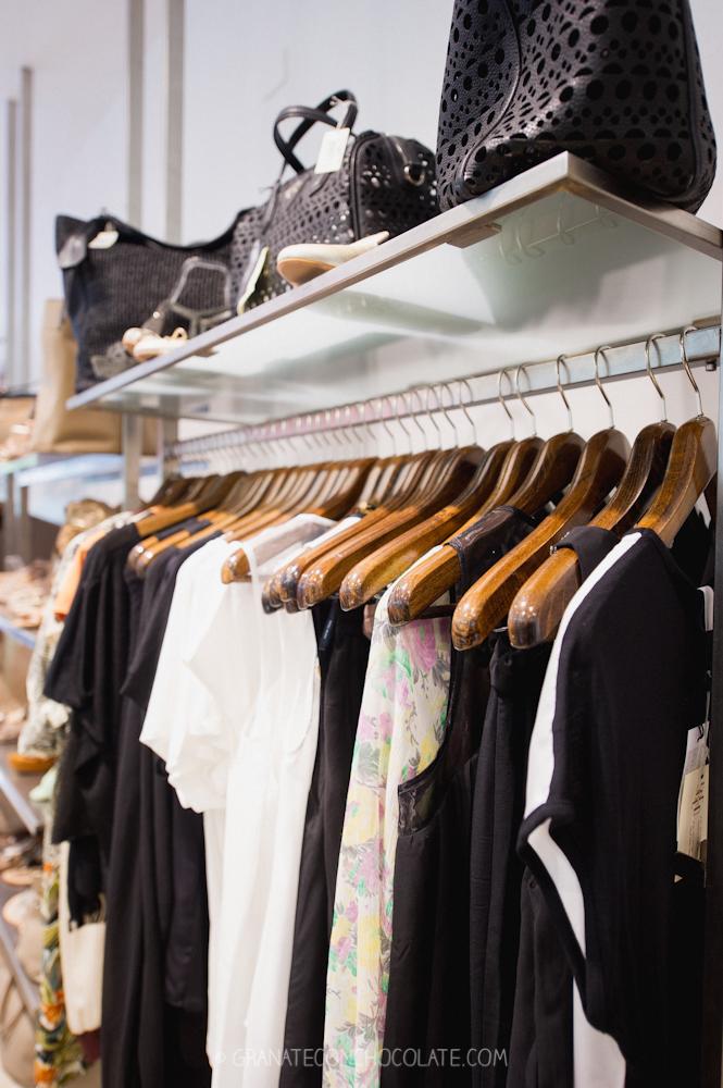 ropa, tienda, primavera