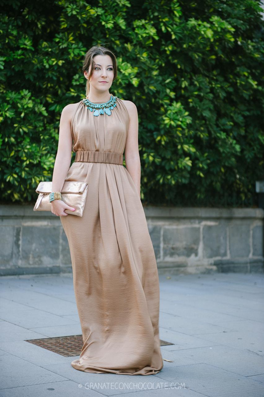 vestido para evento