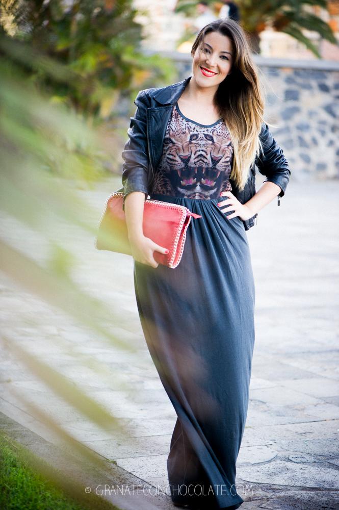 vestido Only largo verano 2013