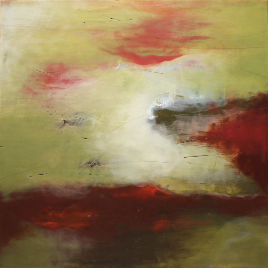 """The Calm Before :: 48""""x48"""""""