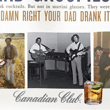 canadian club damn right campaign