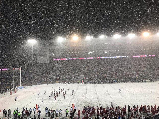 What a fun, snowy, weird one, Washington State.