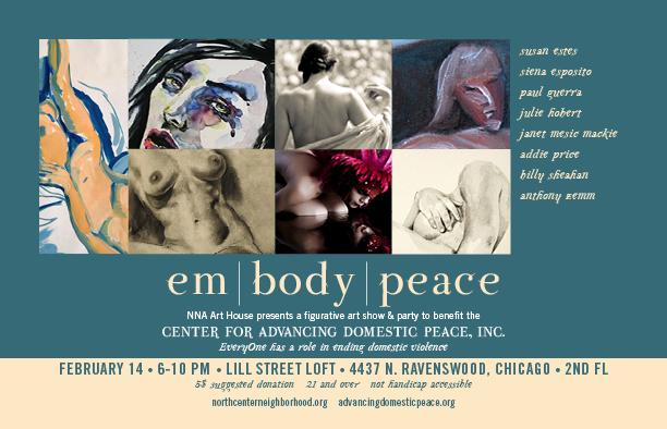 Em. Body. Peace Art Show and Benefit