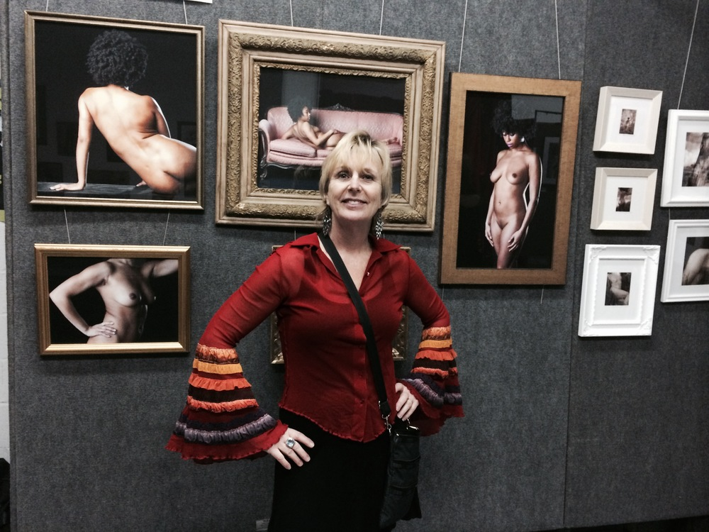Artist, Janet Mesic-Mackie and her work