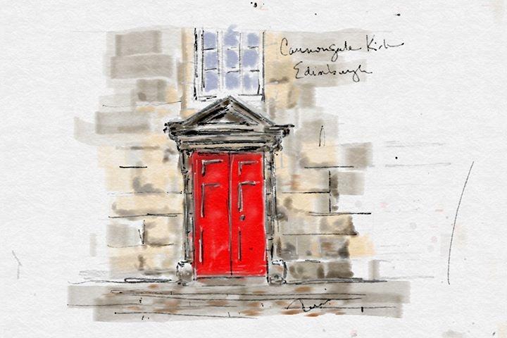Cannongate Kirk, Edinburgh Scotland