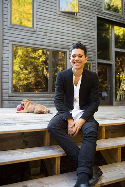 Matthew Dear, photographed at his home in Upstate New York