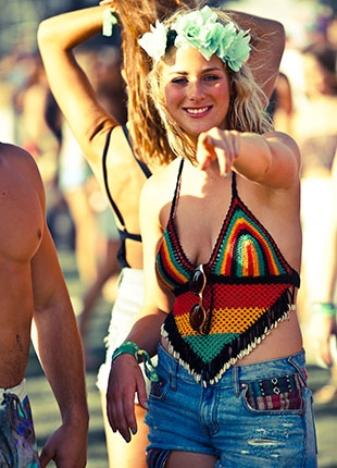 Coachella Festival Style, Billboard.com  Photographer: Catie Laffoon