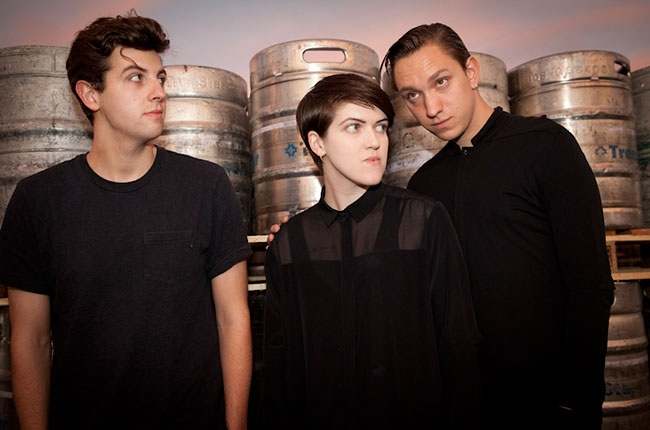 The XX, Backstage at Coachella,  Billboard.com  Photographer: Catie Laffoon