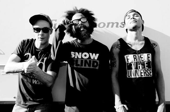 Major Lazer, Backstage at Coachella,  Billboard.com  Photographer: Catie Laffoon
