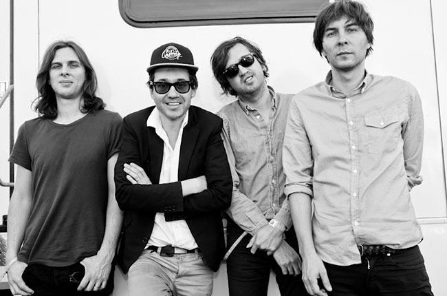Phoenix, Backstage at Coachella,  Billboard.com  Photographer: Catie Laffoon