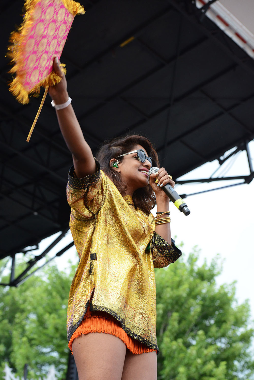MIA at Pitchfork Festival