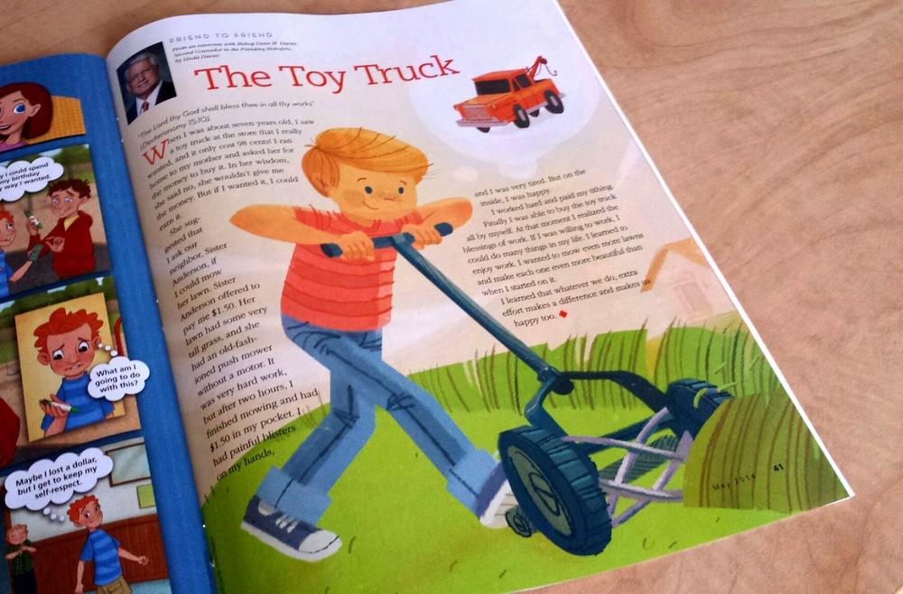 Toy Truck JOSH TALBOT 2