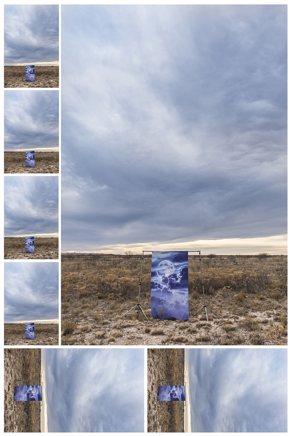Moon Dream in a Desert Prairie, 2016