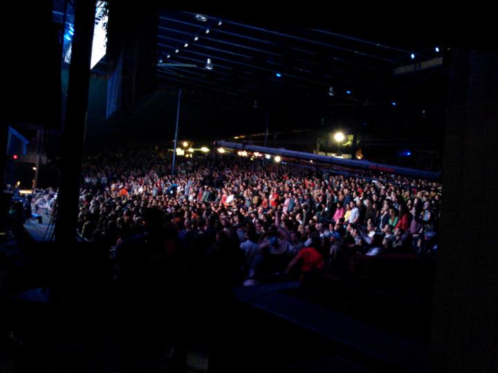 Merriweather Post Pavilion stage...