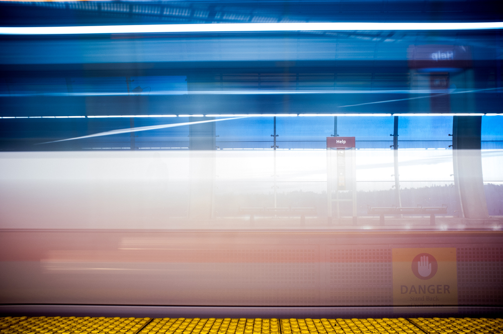Sunalta Station. Calgary, Alberta, 2013.