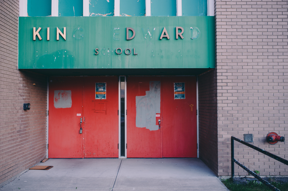 King Edward School. Calgary, Alberta.