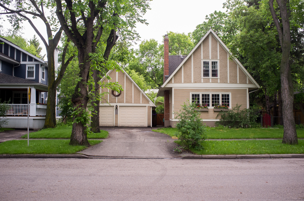 Riverdale Avenue homes.