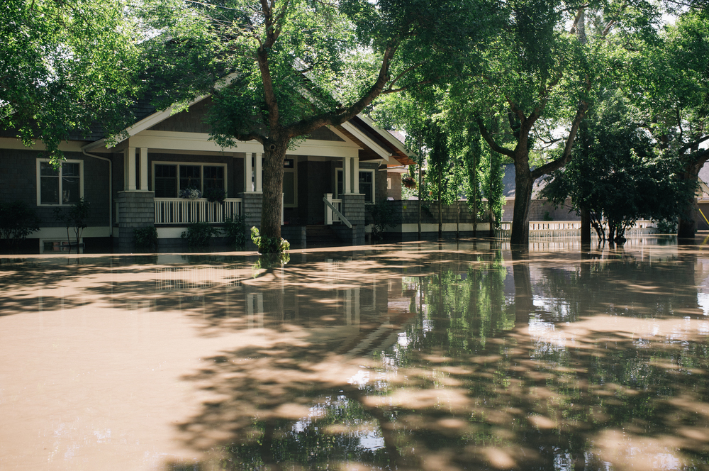 East Elbow. 5 Street at 39th Ave. The waters were knee-deep.