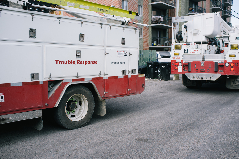 ENMAX crews restored the last of the power grid to the downtown core late Friday night, seven days from the beginning of the crisis. At this time, many individual buildings still require power and wait for additional attention.
