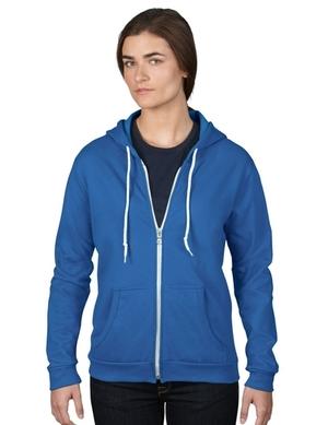 725c34117849 Anvil 71600FL Womens Full Zip Fleece
